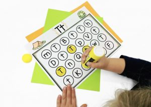 Guided Reading Warm Ups Letter Recognition Activity