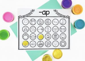 Guided Reading Warm Ups Word Families Activities