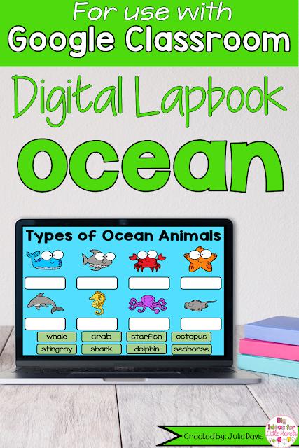 https://www.teacherspayteachers.com/Product/Ocean-Animal-Digital-Interactive-Notebook-for-Google-Classroom-Distance-Learning-5513700?utm_source=BIFLH%20Blog&utm_campaign=Google%20Summer%20Ocean%20Lapbook