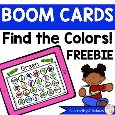 https://www.teacherspayteachers.com/Product/Find-the-Colors-Boom-Cards-Color-Recognition-FREEBIE-3306763