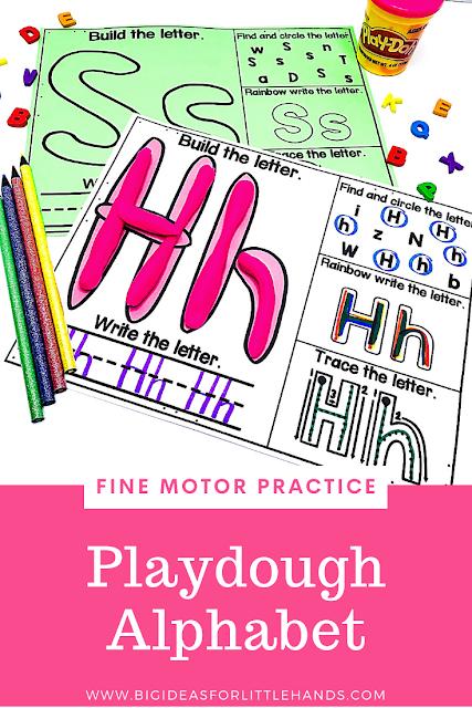 https://www.teacherspayteachers.com/Product/Playdough-Alphabet-Letters-Mat-4839931?utm_source=BIFLH%20Blog&utm_campaign=Alpha%20Fine%20Motor%20Playdough