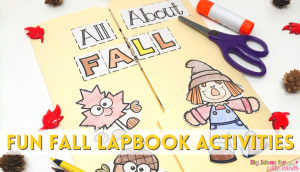 Your students will love connecting the fall season with their learning using these fun fall activities for kindergarten