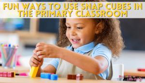 Use thse fun snap cube activities in your kindergarten classroom