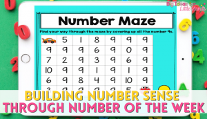 Use Number of the Week to build strong number sense skills