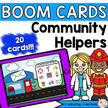 Community Helpers Boom Cards activities