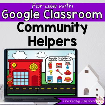 Community Helpers Digital activities for Google Slides