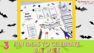 Here are 3 awesome ideas to have a fun celebration of Bat Week in your classroom.